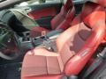 Red Leather/Red Cloth Interior Photo for 2013 Hyundai Genesis Coupe #81462074