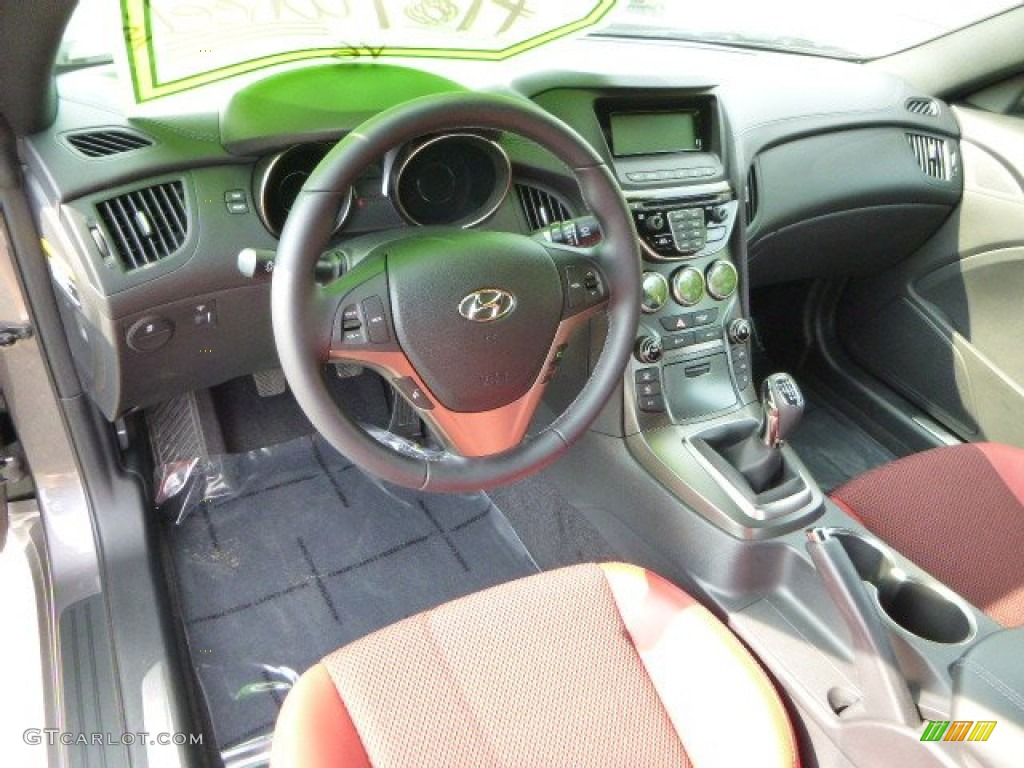 2013 hyundai genesis coupe 3 8 r spec dashboard photos. Black Bedroom Furniture Sets. Home Design Ideas
