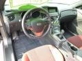 Red Leather/Red Cloth Dashboard Photo for 2013 Hyundai Genesis Coupe #81462123