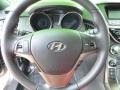 Red Leather/Red Cloth Steering Wheel Photo for 2013 Hyundai Genesis Coupe #81462200