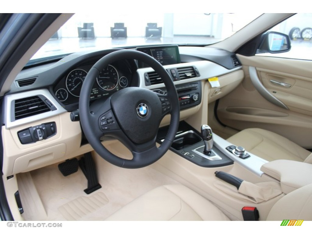 venetian beige interior 2013 bmw 3 series 328i sedan photo
