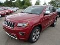 Deep Cherry Red Crystal Pearl 2014 Jeep Grand Cherokee Gallery