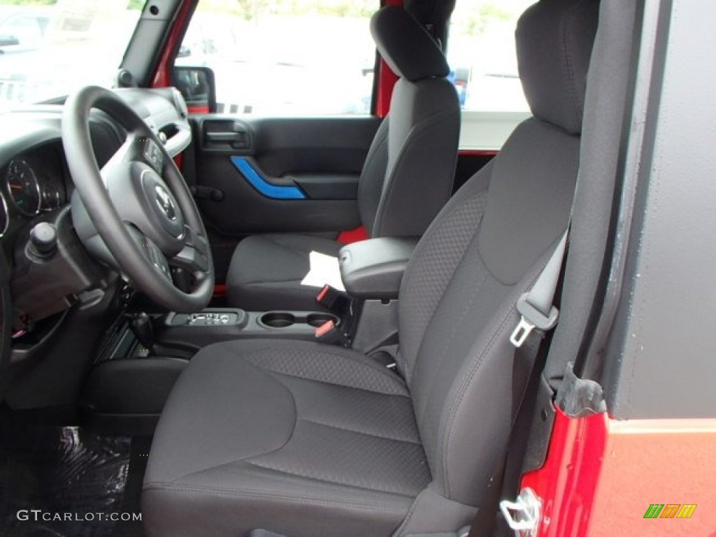 2013 Jeep Wrangler Unlimited Sport 4x4 Interior Color Photos