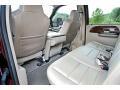 2006 Ford F250 Super Duty Tan Interior Rear Seat Photo
