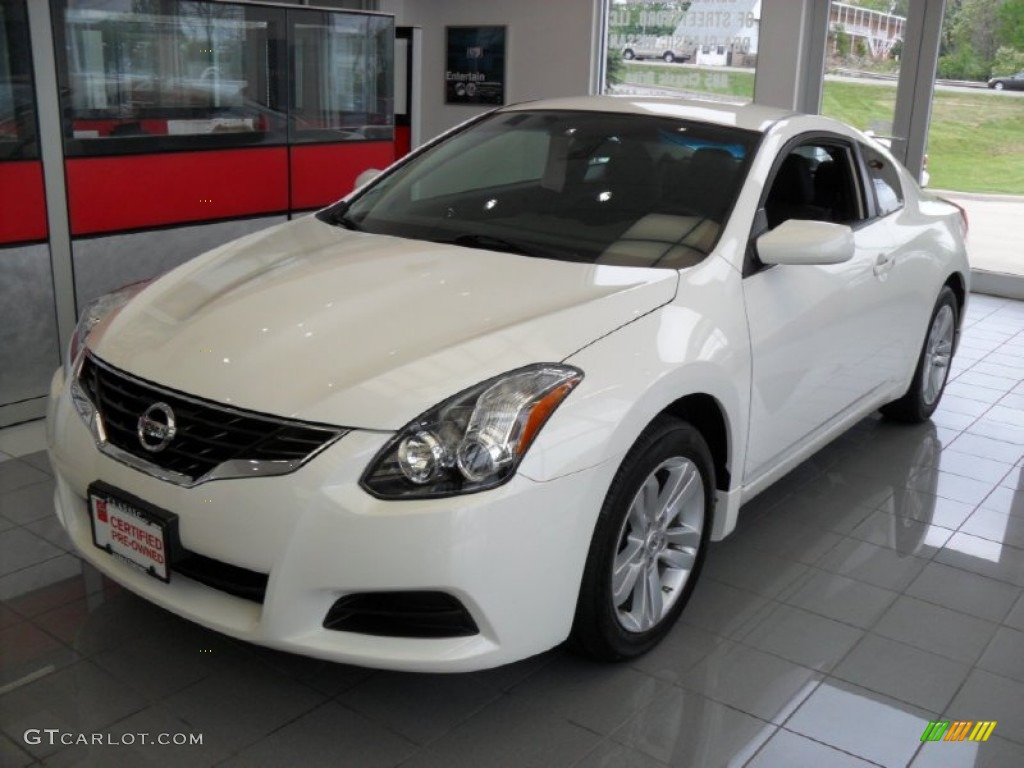 2012 winter frost white nissan altima 2 5 s coupe. Black Bedroom Furniture Sets. Home Design Ideas