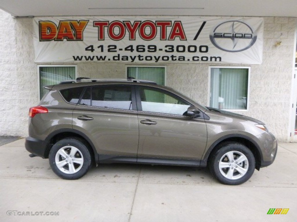 2013 Pyrite Mica Toyota Rav4 Xle Awd 81455066 Photo 15