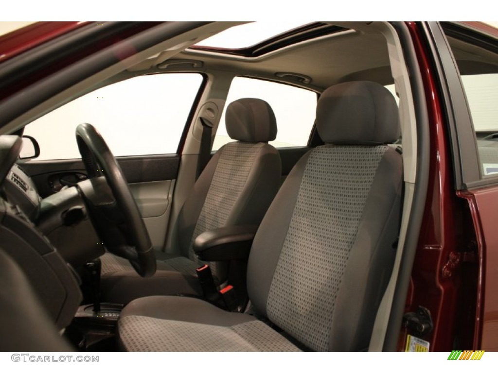 2006 Ford Focus Zx3 >> 2007 Ford Focus ZX4 SE Sedan Interior Color Photos ...