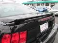 2002 Black Ford Mustang V6 Coupe  photo #16