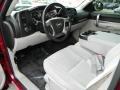2007 Chevrolet Silverado 1500 Light Titanium/Ebony Black Interior Prime Interior Photo