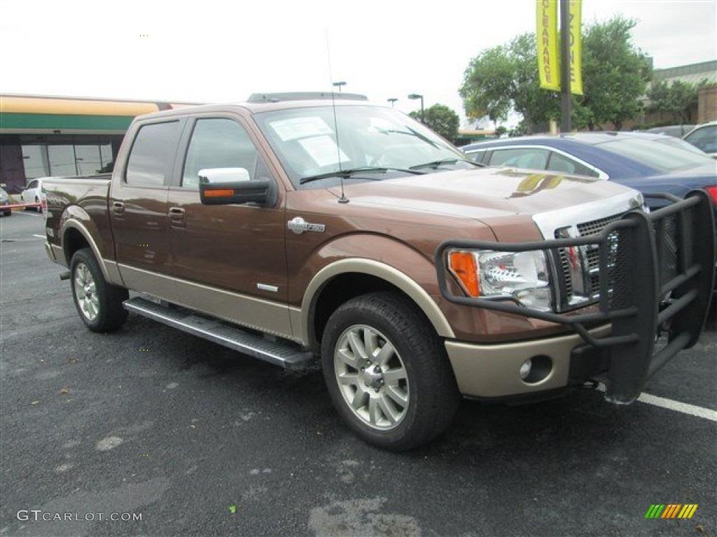 2011 golden bronze metallic ford f150 king ranch supercrew 4x4 81520042 car. Black Bedroom Furniture Sets. Home Design Ideas