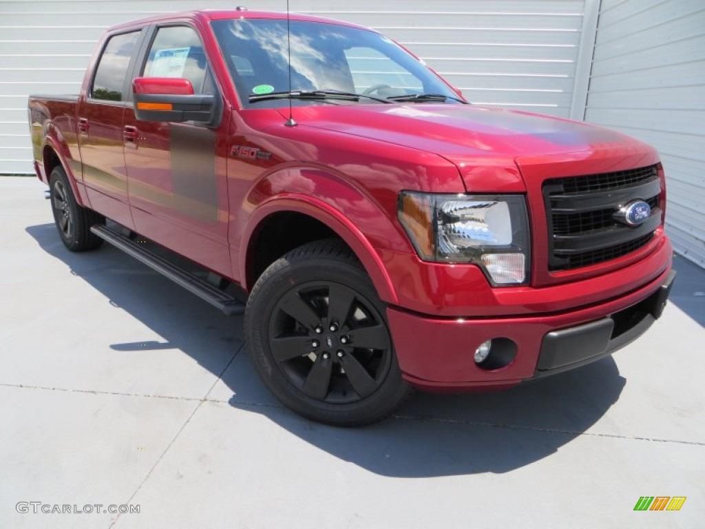 2013 Ruby Red Metallic Ford F150 FX2 SuperCrew 81524745 Car