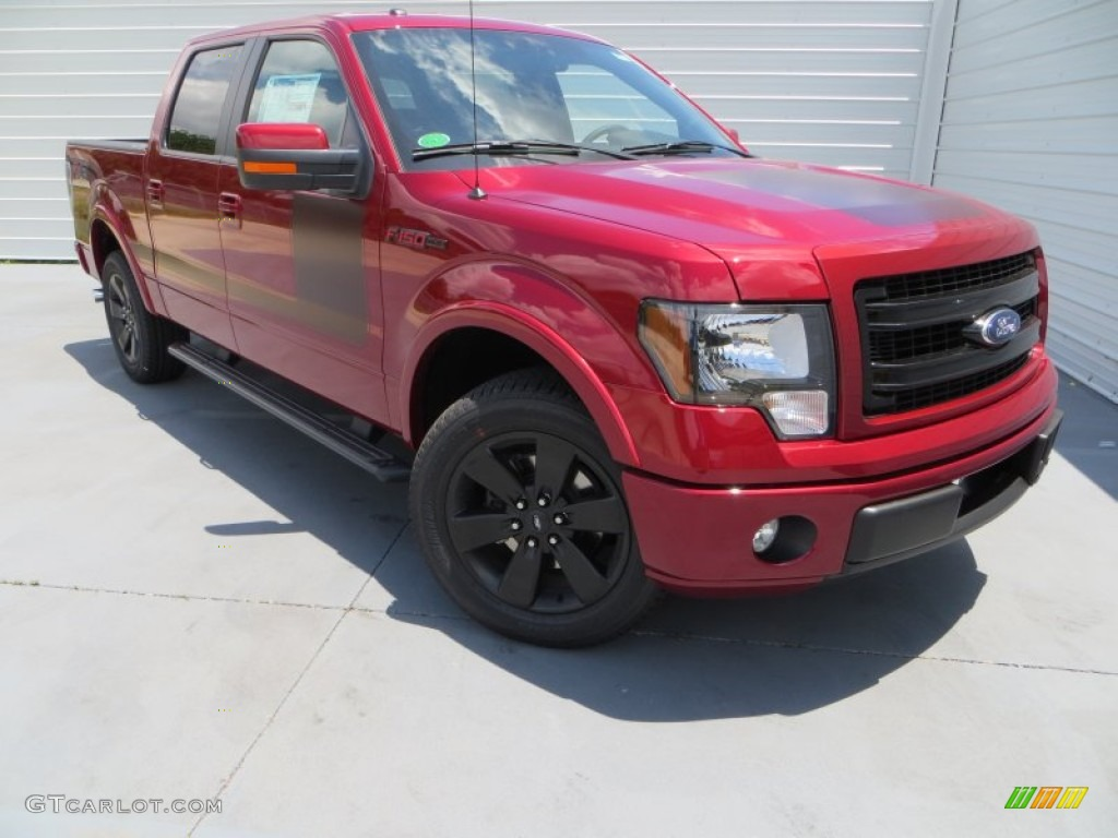 ruby red metallic 2013 ford f150 fx2 supercrew exterior photo 81528569. Black Bedroom Furniture Sets. Home Design Ideas