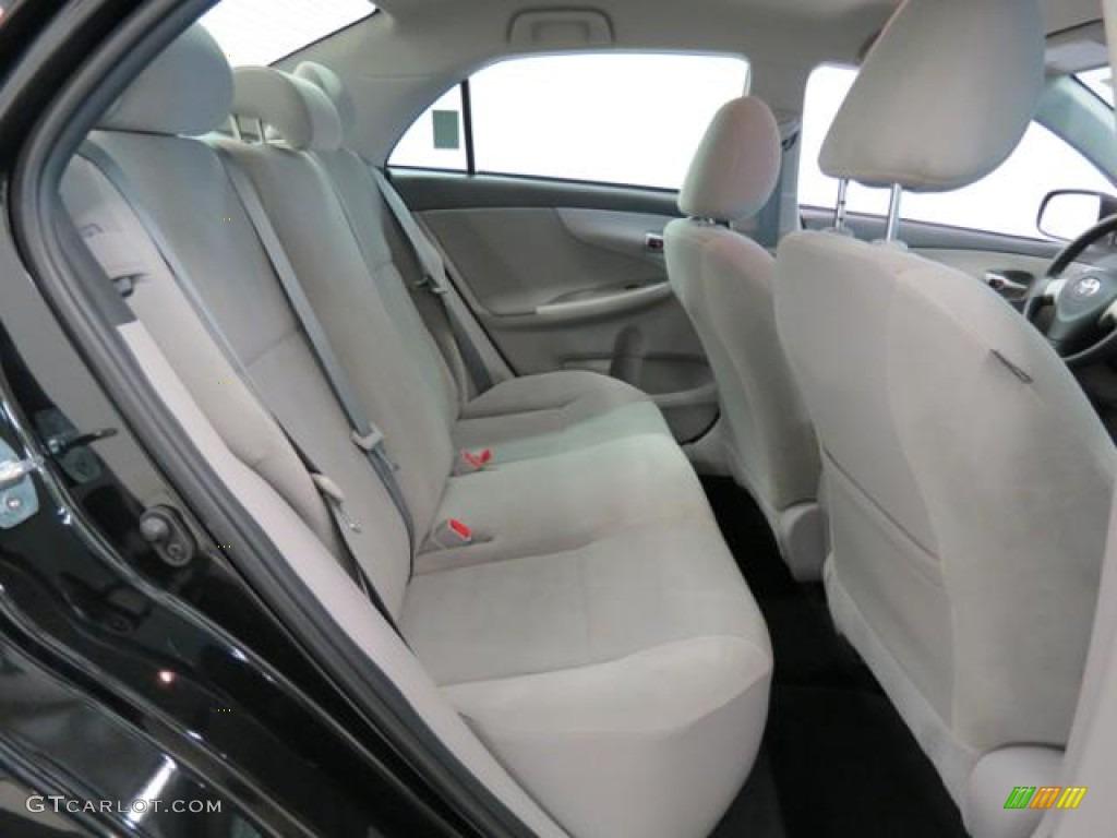 2012 Toyota Corolla LE Rear Seat Photos