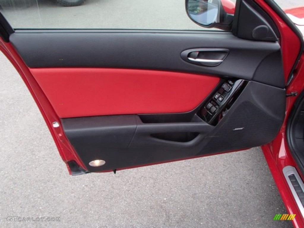 2006 Mazda RX-8 Standard RX-8 Model Black/Red Door Panel Photo & 2006 Mazda RX-8 Standard RX-8 Model Black/Red Door Panel Photo ...