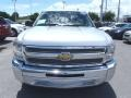 2013 Silver Ice Metallic Chevrolet Silverado 1500 LT Extended Cab  photo #2