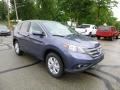 2013 Twilight Blue Metallic Honda CR-V EX AWD  photo #1