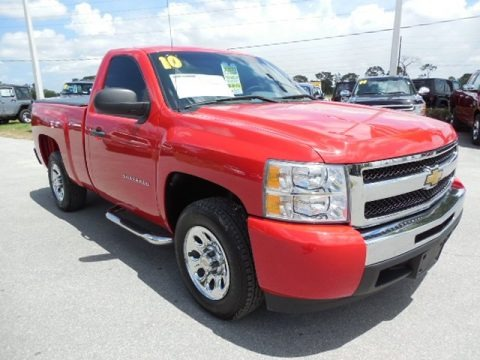 2010 Chevrolet Silverado 1500 LS Regular Cab Data, Info and Specs