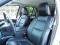2009 Ford Explorer Black Interior Front Seat Photo