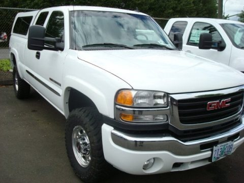 2007 GMC Sierra 2500HD Classic SLT Extended Cab 4x4 Data, Info and Specs
