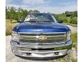 2013 Blue Topaz Metallic Chevrolet Silverado 1500 LT Crew Cab 4x4  photo #3