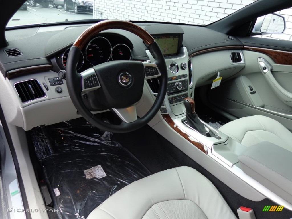 Light Titanium Ebony Interior 2013 Cadillac Cts Coupe Photo