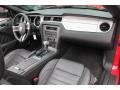 2010 Ford Mustang Charcoal Black Interior Dashboard Photo