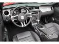2010 Ford Mustang Charcoal Black Interior Prime Interior Photo