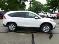 2013 White Diamond Pearl Honda CR-V EX-L AWD  photo #2