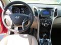 Beige Dashboard Photo for 2013 Hyundai Elantra #81581502