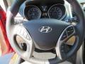 Beige Steering Wheel Photo for 2013 Hyundai Elantra #81581580