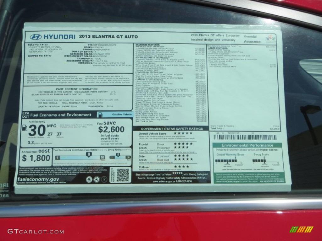 Window Sticker By Vin Hyundai Autos Post