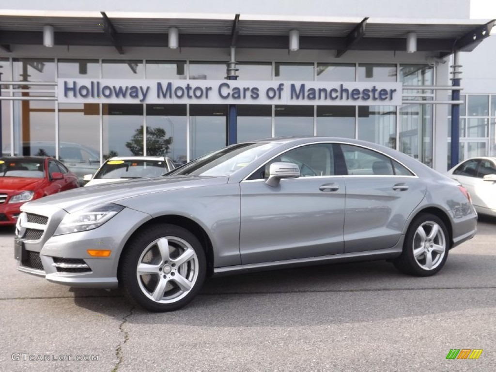 2014 palladium silver metallic mercedes benz cls 550 for Mercedes benz silver
