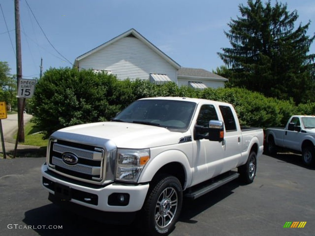 2013 oxford white ford f250 super duty king ranch crew cab