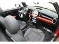 Grey/Carbon Black 2010 Mini Cooper Interiors