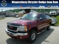 2006 Sport Red Metallic GMC Sierra 2500HD SLE Extended Cab 4x4 #81583703