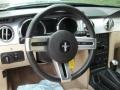Medium Parchment Steering Wheel Photo for 2005 Ford Mustang #81599351