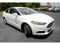 2013 Oxford White Ford Fusion SE  photo #3