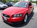 Passion Red 2009 Volvo C30 T5