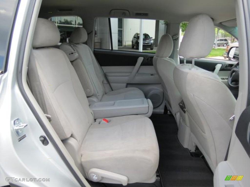 2012 Toyota Highlander Standard Highlander Model Interior Color Photos