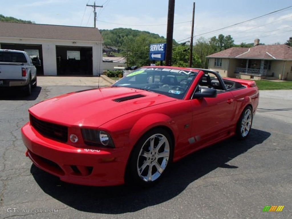 2007 Mustang Saleen S281 Supercharged Convertible - Torch Red / Dark Charcoal photo #1