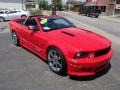 2007 Torch Red Ford Mustang Saleen S281 Supercharged Convertible  photo #3
