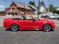 2007 Torch Red Ford Mustang Saleen S281 Supercharged Convertible  photo #4
