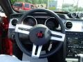 2007 Ford Mustang Dark Charcoal Interior Steering Wheel Photo