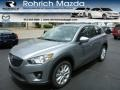Liquid Silver Metallic - CX-5 Grand Touring AWD Photo No. 1