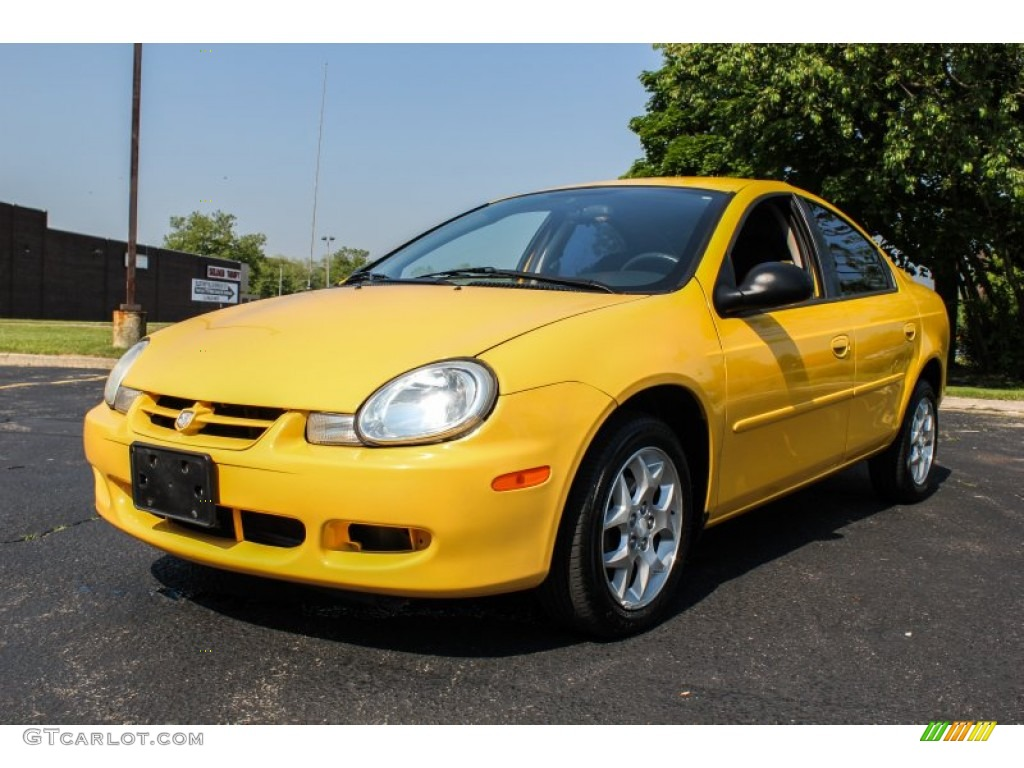 solar yellow 2002 dodge neon sxt exterior photo 81647680. Black Bedroom Furniture Sets. Home Design Ideas