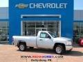 Silver Ice Metallic 2013 Chevrolet Silverado 1500 Work Truck Regular Cab