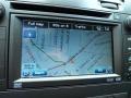 2010 Cadillac DTS Ebony Interior Navigation Photo