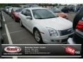 White Suede 2009 Ford Fusion SEL V6