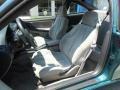 1997 Chevrolet Cavalier Light Gray Interior Front Seat Photo