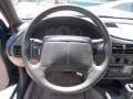 1997 Chevrolet Cavalier Light Gray Interior Steering Wheel Photo